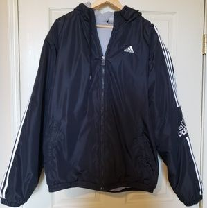 ADIDAS Zip Up Lined Jacket with Hood